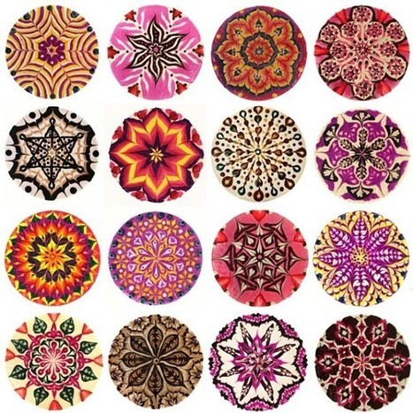 Delicious #Meditation: #Vegan #Mandala #Cakes by Chef Stephen McCarty. #art #pattern | Luby Art | Scoop.it