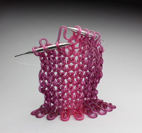 Delicate 'Knit' Glass Sculptures by Carol Milne | Culture and Fun - Art | Scoop.it