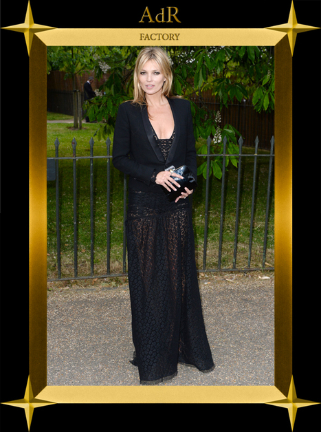 Serpentine Party | KATE MOSS | Fashion in the City | Scoop.it