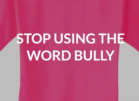 "Ontario Educator Blogs: Reconsidering ""Bullying"" 