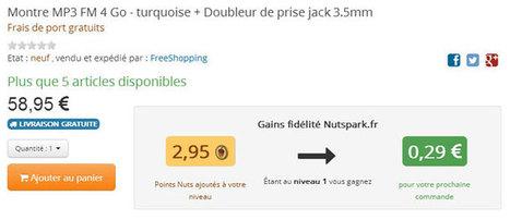 Nutspark.fr, une nouvelle place de marché basée sur un système de fidélisation évolutive : Capitaine Commerce 3.6 | LES MARKETPLACES en BtoB | Scoop.it