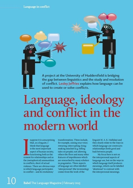 Language in Conflict - Language in Conflict in Babel magazine | Language Issues | Scoop.it