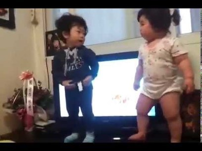What a dance by a chubby Korean baby! | First Topic | Scoop.it
