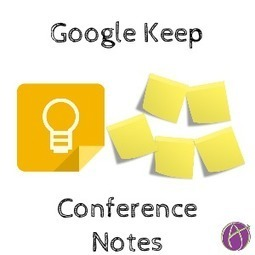 Instead of Handouts - Google Keep - Teacher Tech | Android Apps in Education | Scoop.it