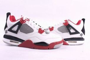 Nike Air Jordan 4 Retro White/Red Men's | new and popular list | Scoop.it