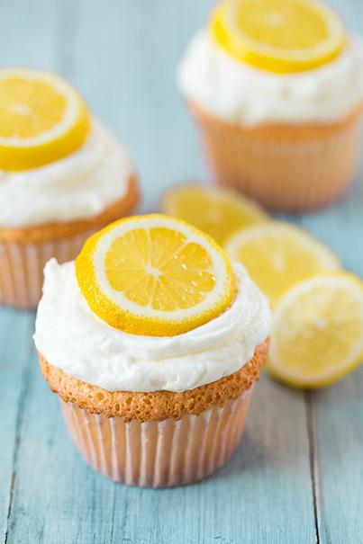 #Recipe / Lemon Angel Food Cupcakes - Cooking Classy   cooking   Scoop.it