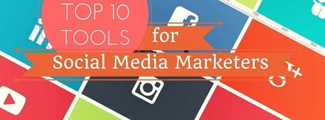 Top 10 Useful Tools for the aspiring Social Media Marketer. | Marketing and Blogging resources | Scoop.it