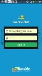 Banckle Live Chat App for Android | Business and Social applications | Scoop.it