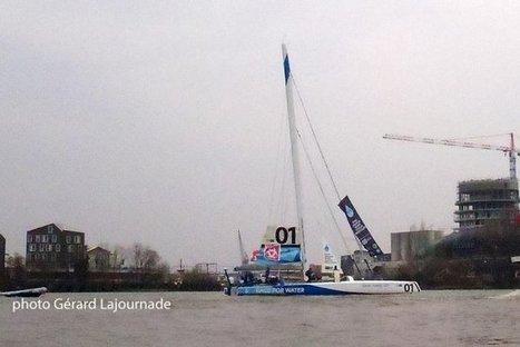 Le Trimaran de course MOD70 Race for Water a entamé son périple. | Bordeaux Gazette | Scoop.it