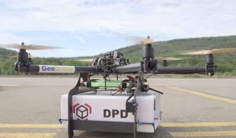 """Après Amazon, La Poste teste à son tour les """"drones-facteurs""""   Les Postes et la technologie   Scoop.it"""