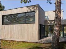 Une maison passive en bois massif peu conventionnelle | automatisme, solaire et confort maison | Maisons Bois Basse Conso | Scoop.it