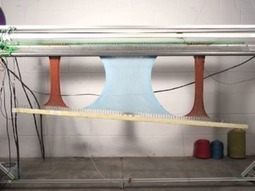 Beyond 3D Printing: OpenKnit is a 3D Knitting Machine (video) | Digital Design and Manufacturing | Scoop.it