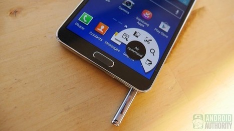 How to use the S Pen on the Galaxy Note 3: Feature Focus | Android Discussions | Scoop.it