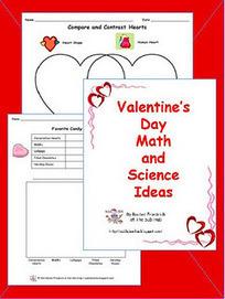 Valentine's Day Math and Science Freebie | Seasonal Freebies for Teachers | Scoop.it