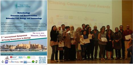 Deux pasteuriennes récompensées au 1er colloque international des jeunes chercheurs en biologie (12-14 mai 2016) | Institut Pasteur de Tunis-معهد باستور تونس | Scoop.it
