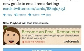 Twitter Lead Gen Cards: 3 Keys to B2B Domination [Case Study] | My Social Media Resources | Scoop.it