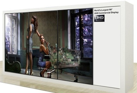 Samsung to show off 98-inch Ultra HD video wall, 31.5-inch 4K monitor at IFA 2013 | touch screen displays | Scoop.it