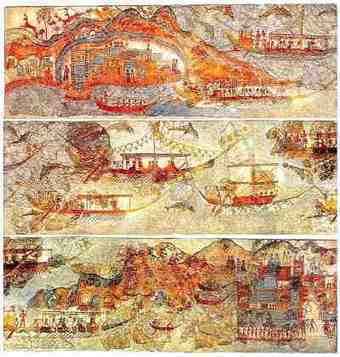 The Minoan Catastrophe: The Theran Pyroclastic Surge Theory   Miscellaneous Topics   Scoop.it