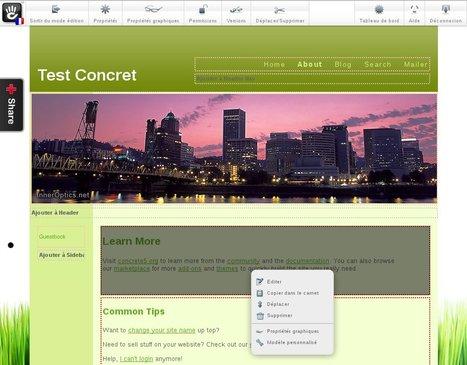 Concrete 5, un logiciel libre pour faire un site web facile à prendre ... | Actualités de l'open source | Scoop.it