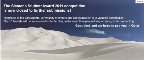 Siemens Student Award | Crowdsourcing Contests | Scoop.it