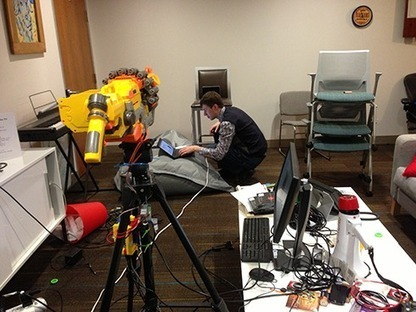 Hardware fun: building an email-controlled gun for PyCon 2013 | Python-es | Scoop.it