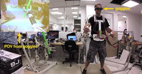 HERMES : un robot humanoïde téléguidé par exosquelette | Heron | Scoop.it