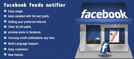 Buy Facebook Feeds Notifier Full Applications For Android | Chupamobile.com | Mobile App Development | Scoop.it