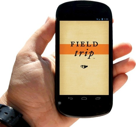 Field Trip - Augmented reality app | IPAD Apps for education | Scoop.it