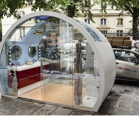Ikea réaménage les stations Autolib | Street Marketing & Creativity | Scoop.it