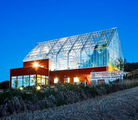Cette maison basse consommation ne produit pas de déchets, mais des aliments | Territoires durables | Scoop.it