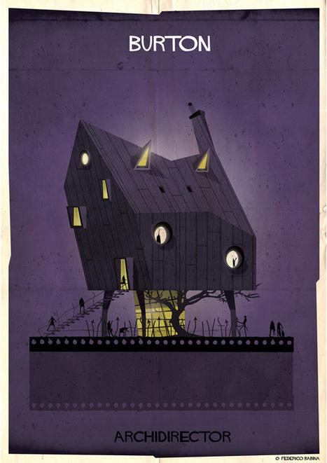 Un architecte imagine les demeures des grands réalisateurs | Instantanés | Scoop.it