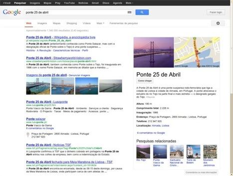 Google alarga a Portugal tecnologia de busca mais inteligente | Working Stuff | Scoop.it