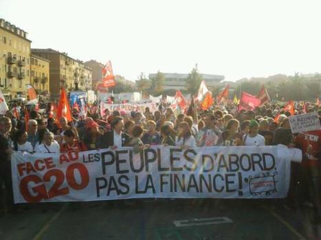 La manif est sur le point de partir, les 10 000 semblent atteints. Contre-#G20 de #Nice. | Epic pics | Scoop.it