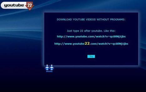 Youtube22, la forma más rápida y sencilla para descargar vídeos de YouTube | Educa con Redes Sociales | Scoop.it