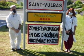 Saint-Vulbas : un panneau pour prévenir des dangers du nucléaire   L'écologie politique dans l'Ain   Scoop.it