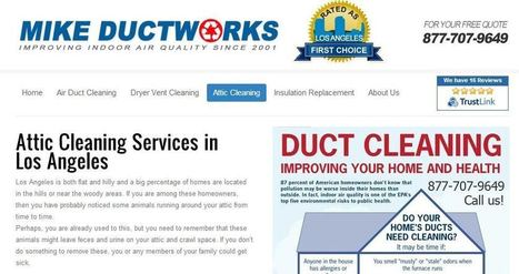Mike Ductworks As Top Rated Air Duct Cleaning Company in Culver City | PRLog | Air Duct Cleaning | Scoop.it