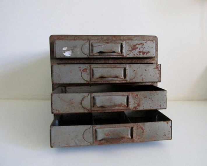 Century Display Chicago Industrial Metal Cabinet   Antiques & Vintage Collectibles   Scoop.it