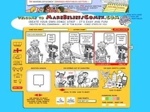 Make Cross-Curricular Comics with MakeBeliefsComix!   Teaching News   Math, technology and learning   Middle School Statistics and Probability   Scoop.it