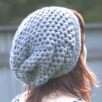 Hopeful Honey | Craft, Crochet, Create: Beginners Luck ~ Puff Stitch Slouchy Beanie Pattern | Stunning Crafts You Can Do With Yarns | Scoop.it