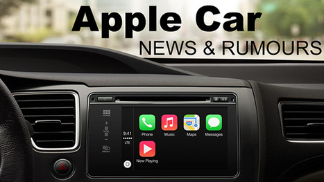 Apple Car – Everything you need to know | The Future of Autonomous Driving | Scoop.it