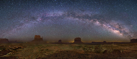 APOD : 2012 August 1 - The Milky Way Over Monument Valley | The Blog's Revue by OlivierSC | Scoop.it