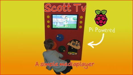 A media player for Scott - Raspberry Pi | Raspberry Pi | Scoop.it