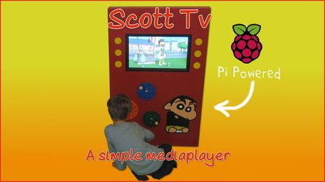 A media player for Scott - Raspberry Pi | Raspberry Pi | Scoop.it