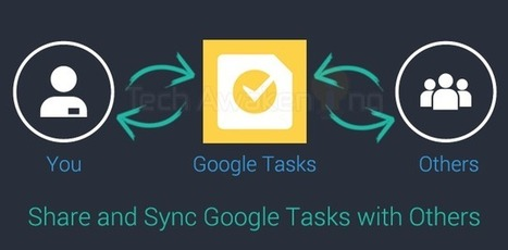 Shared Google Tasks: How to Share and Sync your Task List with Others | Google Apps Script | Scoop.it