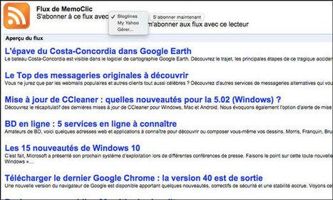RSS : les meilleures extensions pour Chrome | outils numériques pour la pédagogie | Scoop.it