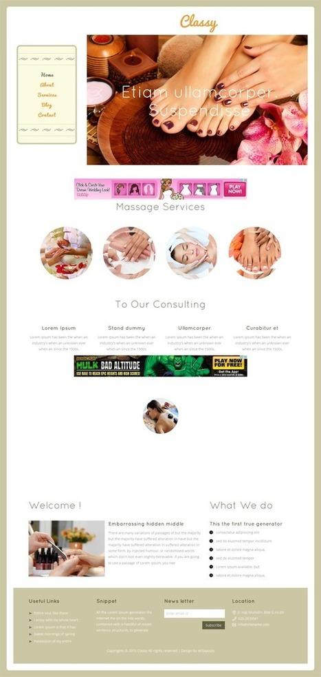 25+ Best Cool Beauty and Spa Responsive HTML Templates | Webtechelp | Scoop.it