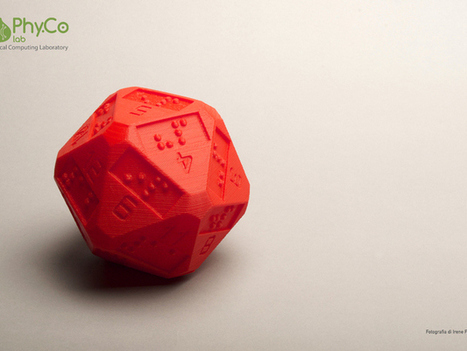 Des D20 en braille grâce à une imprimante 3D | Headlines from Nath | Scoop.it