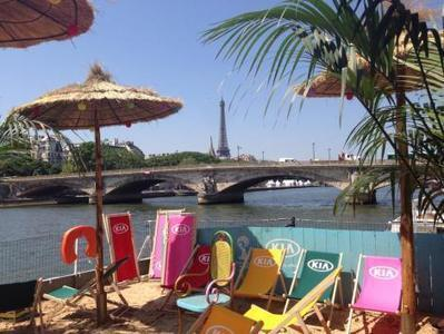 Le Brésil à Paris avec Kia Cabana   streetmarketing   Scoop.it