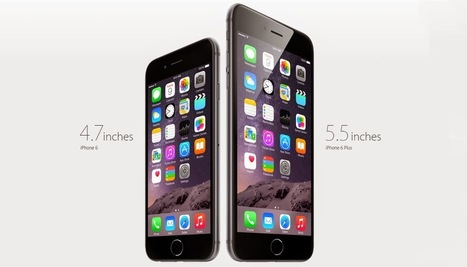 Apple Launched iPhone 6 and iPhone 6 Plus | Prop Apps | Scoop.it