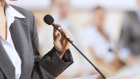 The 2 Unbreakable Laws of Public Speaking | Marketing, Public Relations & Small Business | Scoop.it